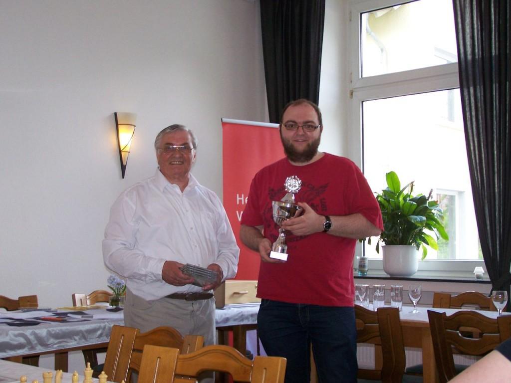 Platz 1 für Sodingen - Christopher Graw