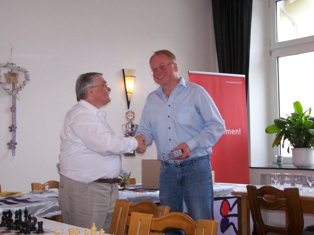 Platz 2 für Dortsen - Joachim Vengels