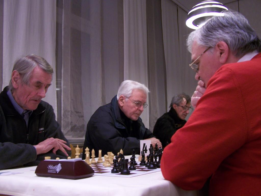 6. Runde: Horst Stubbe - Udo Wickenfeld