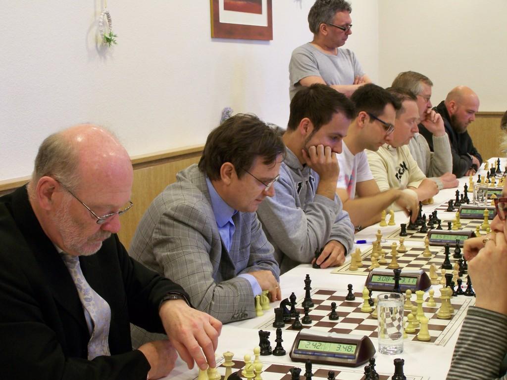 Gegen den späteren Turniersieger gelang dem Gastgeber ein Überraschungs-Unentschieden