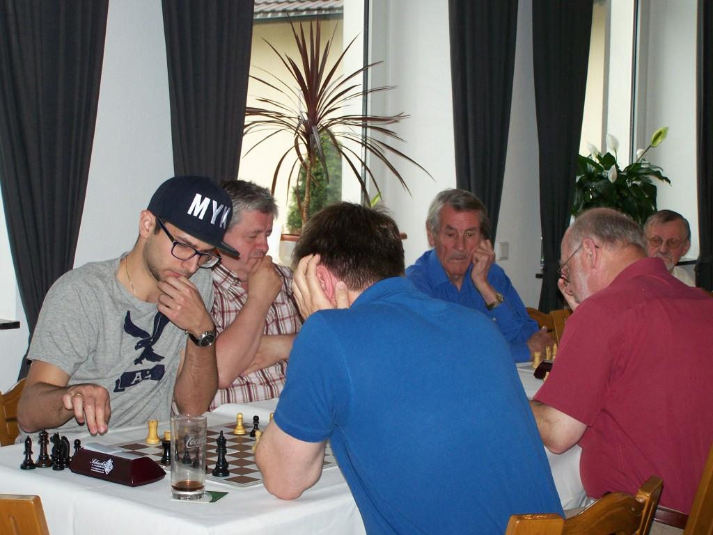 1. Runde: Mark Kusnetsov - Frank Stubbe