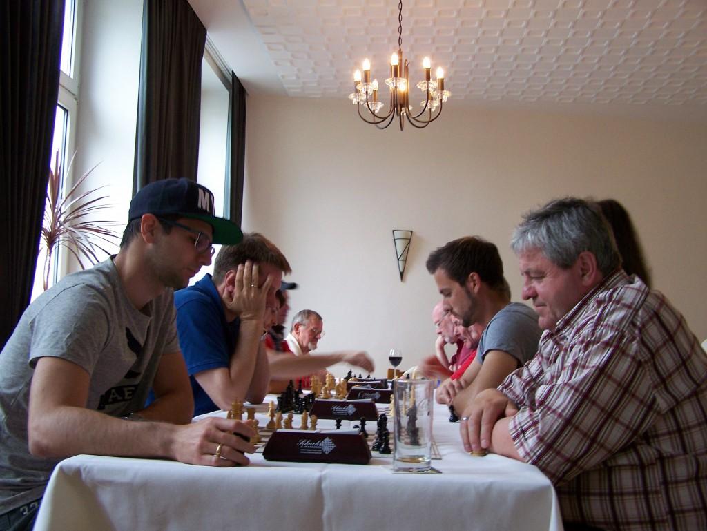 3. Runde: Mark Kusnetsov - Peter Trzaska